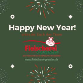 Wir wünschen Euch ein gesundes neues Jahr